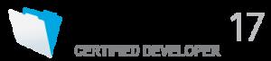 Filemaker®17 Certified Developper (認定技術者) ロゴ