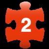 2番めのピースを表すアイコン