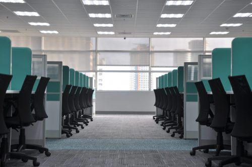 広いオフィス空間のイメージ画像